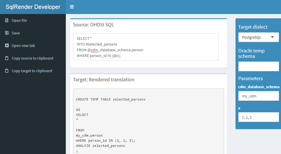 Chapter 9 SQL and R | The Book of OHDSI